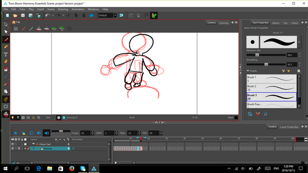 Working on animation by TippyDruid