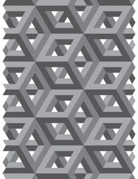 Gray Tessellation by Humble-Novice