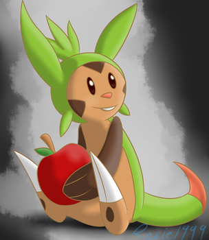 Chespin by Rexie1999