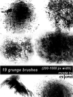 Diverse Grunge Brushes by evionn