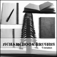 Ischarm Book Brushes by ischarm-stock