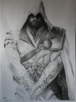 Ezio Auditore - Finished Work by EvoLuxray