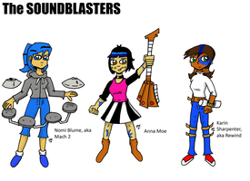 THE SOUNDBLASTERS by JohnnyFive81