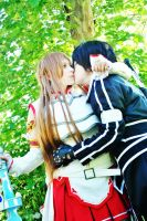 Thanks for rescue me Asuna-san by Elementaria