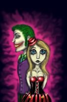 Harley Quinn and The Joker by NaviMoon
