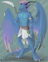 Riptide Dragon (Grown-Up Adoptable) by Ulario