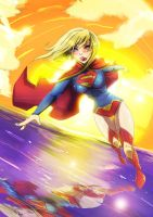supergirl new 52 by zhane00