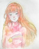 Mabel Watercolor by catpaku