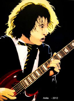 Angus Young by Rockarsen