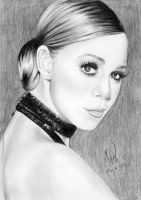 Mariah Carey Glamor Drawing 2 by riefra