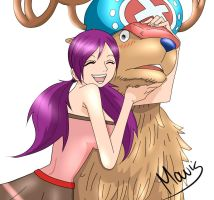 Mavis and Chopper by Lucy-LeCroix