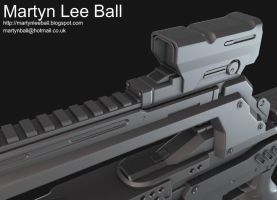 Halo 4 Battle Rifle - Image 3 by martynball