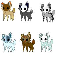 Maskees Adopts closed by InuLover097