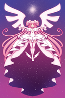 Print - Goddess Madoka by SonicRocksMySocks