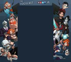 Yogscast Youtube Background by Teutron