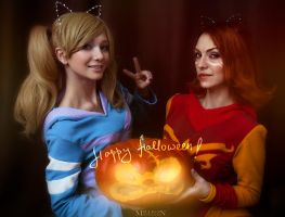 DotA 2 - Halloween - Sisters by MilliganVick