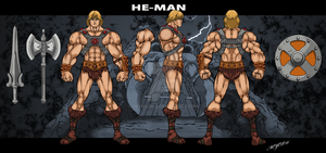 He-Man Classic by skywarp-2