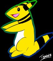 Ampharos Doodle by Tegalad2