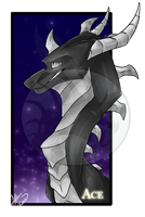 .:Commission:..:Ace:. by Dark-Spine-Dragon