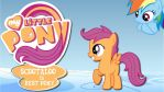 Wallpaper Scootaloo is best pony by Barrfind