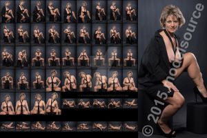 Stock: Cali Jane Nude in Tie - 54 Images by modelsource
