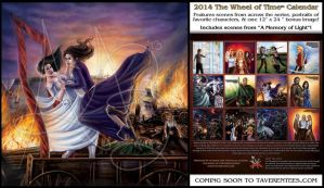 Wheel of Time Calendar back and July image by ReddEra