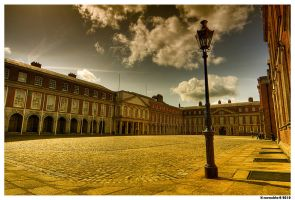 Dublin Castle Courtyard by SneachtaPix