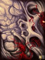 Red Blood Cells + Speedpainting by erik-blaster