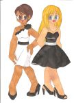 Ebony and Ivory by animequeen20012003