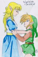 A Link To The Past Link by Silviadevianart