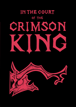 In the Court of the Crimson King - Cover page by KinkySkull