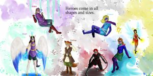 Super-Heroines Contest Entry by unigirl-cloudghost