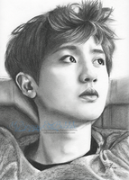 Chanyeol .:dIE JUNGs FanArt:. by FallThruStardust