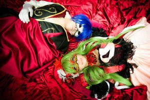 Cantarella - Lovers in Red by PinchofSalt