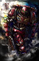 Tactical Space Marine by Andalar