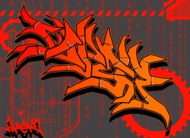 Viper Digi Graffiti 1 by Viper818