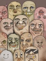 14 Faces by D-RC