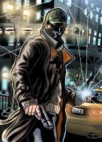 Watch Dogs to colors by JonathanPiccini-JP