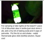Mountain Dew Glow Stick by gamerma