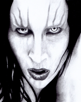Marilyn Manson by JessicaYin