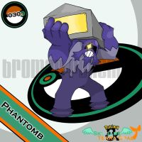 030. Phantomb by bromos-pokemon