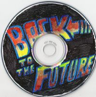 Back to the Future CD by Marimokun