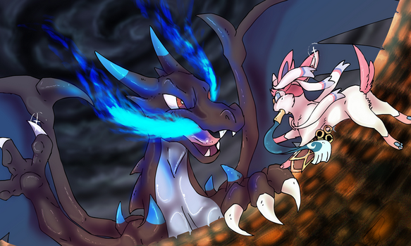 Attack on dragon type by mechanicalmasochist