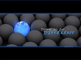 Dare to be different by digitalgod