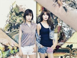 Seohyun and Sooyoung by Jover-Design
