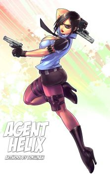 Commission agent-helix by bokuman
