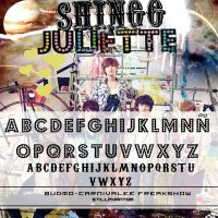 Shinee Juliette   font by StillPhantom