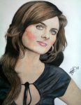 Emily Deschanel Portrait[1] by ghosthorror