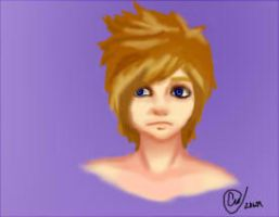 Another Roxas-a-Day by CatsinSummer