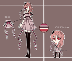 [CLOSED] Auction! Adoptable #3 Half Demon~ by Saraca-xx